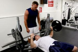 LaxWeekly Lacrosse Exercises Bench Press