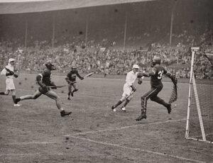 Lacrosse in the olympics in 1948
